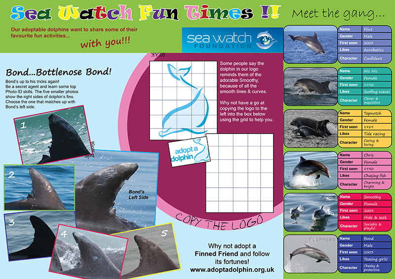 Sea Watch Activity Sheets